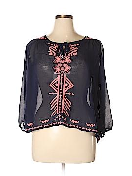 Rue21 3/4 Sleeve Blouse Size XL