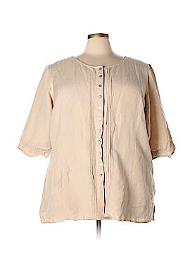 Avenue Short Sleeve Blouse Size 30 - 32 Plus (Plus)