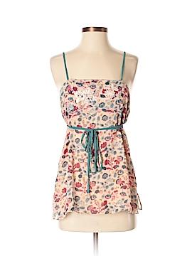Mint Sleeveless Silk Top Size 4