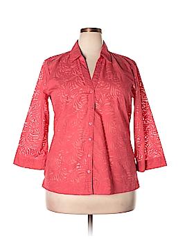 SW Studio Works 3/4 Sleeve Blouse Size XL