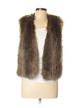 Club Monaco Faux Fur Vest Size L