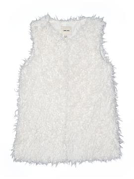 Cherokee Faux Fur Vest Size 14 - 16