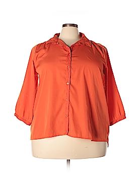 Jennifer & Grace Long Sleeve Blouse Size 3X (Plus)