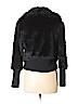 Red Saks Fifth Avenue Women Faux Fur Jacket Size 6