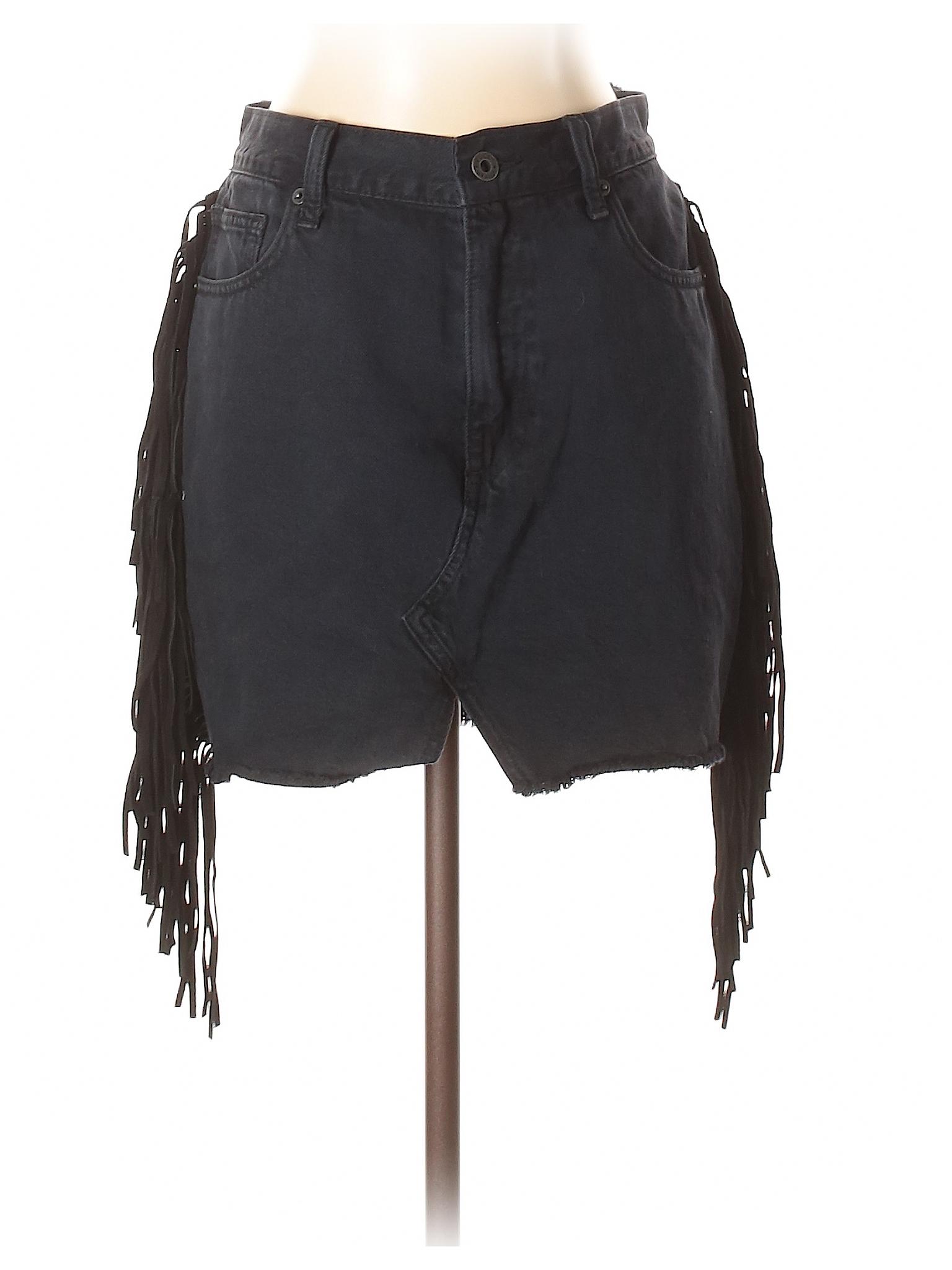 Brand leisure Denim Skirt Lucky Boutique Tqv8xvE
