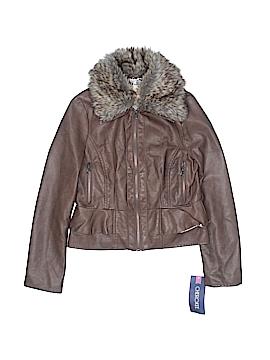 Cherokee Faux Leather Jacket Size M (Kids)