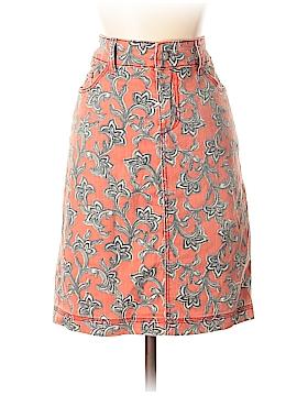 Pilcro and The Letterpress Denim Skirt 27 Waist