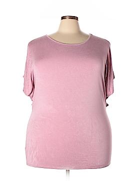 Doublju Short Sleeve Top Size 3X (Plus)