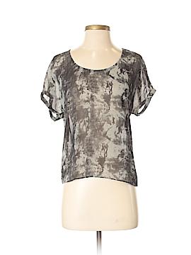 Nom De Plume by YaYa Short Sleeve Blouse Size XS