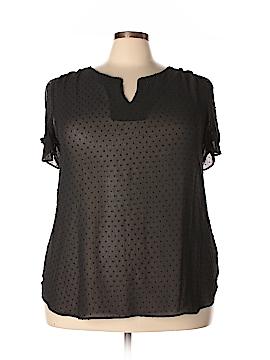 DR2 Short Sleeve Blouse Size 2X (Plus)