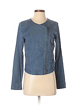 H By Halston Denim Jacket Size 0