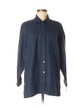 Uniform John Paul Richard 3/4 Sleeve Button-Down Shirt Size M