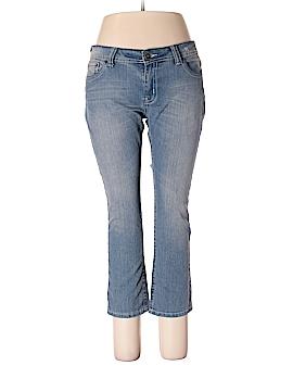 Red Velvet Jeans Size 17