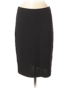 St. John Caviar Wool Skirt Size 6