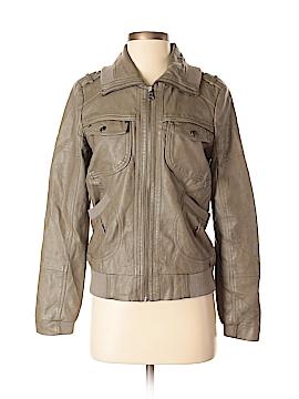 Bernardo Faux Leather Jacket Size S