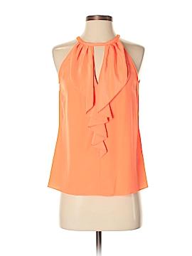Trina Turk Sleeveless Silk Top Size XS
