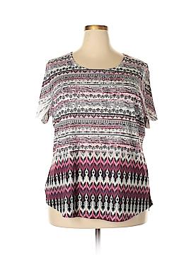 Style&Co Short Sleeve T-Shirt Size 3X (Plus)