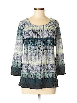 Lizwear by Liz Claiborne 3/4 Sleeve Blouse Size M