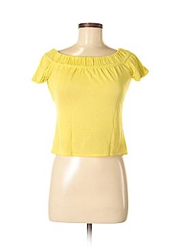 Gucci Short Sleeve Silk Top Size M