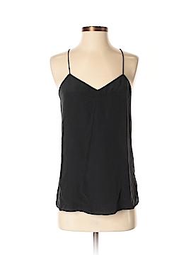Brooks Brothers Sleeveless Silk Top Size S