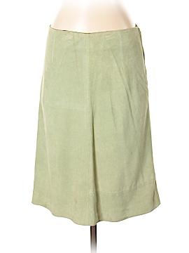 ETRO Leather Skirt Size 42 (IT)