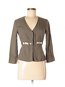 'S Max Mara 3/4 Sleeve Button-Down Shirt Size 6