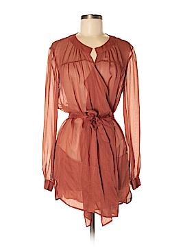 Vanessa Bruno Long Sleeve Silk Top Size 36 (EU)