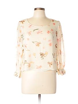 AKRIS for Bergdorf Goodman Long Sleeve Blouse Size 12
