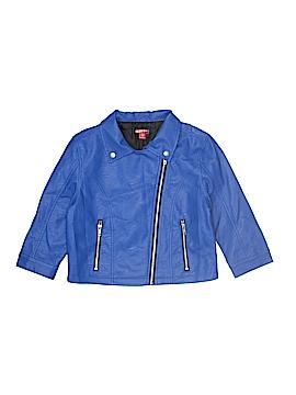 Bongo Faux Leather Jacket Size 14 - 16