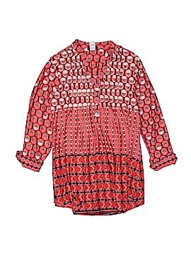 Cocomo Long Sleeve Button-Down Shirt Size 1X (Plus)