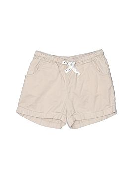 Lands' End Khaki Shorts Size 6X-7