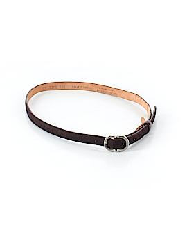 Emporio Armani Leather Belt Size 42 (EU)