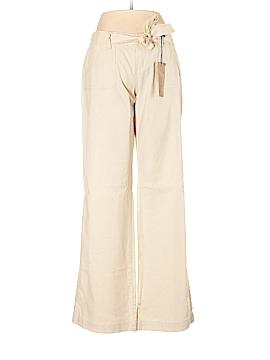 Blue Asphalt Linen Pants Size M
