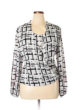 Alfani Long Sleeve Blouse Size 18W (Plus)