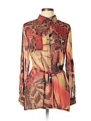 Da-Nang Long Sleeve Silk Top