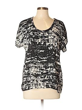Soprano Short Sleeve Blouse Size L