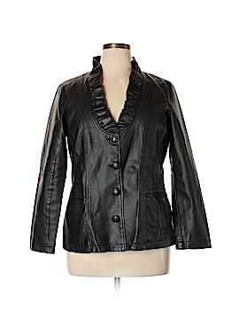 DressBarn Faux Leather Jacket Size 14 - 16