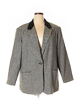 Sag Harbor Wool Blazer Size 22 (Plus)