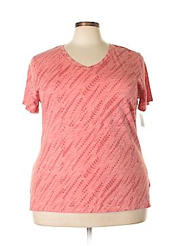 Style&Co Sport Short Sleeve T-Shirt Size 2X (Plus)