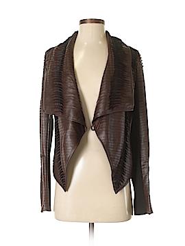 John & Jenn Faux Leather Jacket Size XS