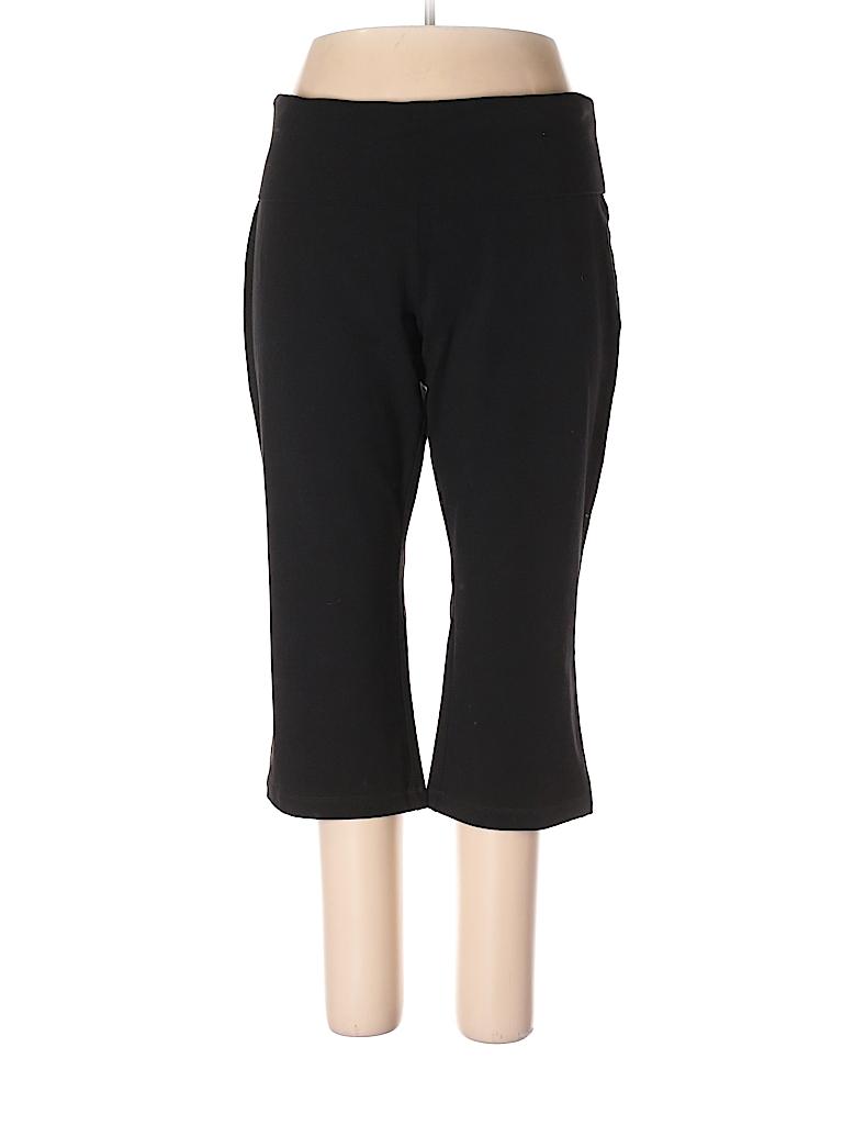 6aa22616345a37 Old Navy Solid Black Yoga Pants Size XXL - 45% off | thredUP