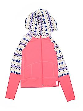Zella Girl Zip Up Hoodie Size 8 - 10