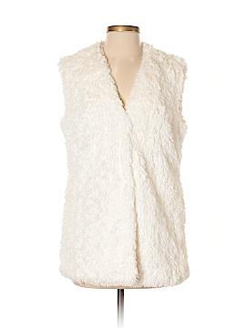 Bernardo Faux Fur Vest Size S
