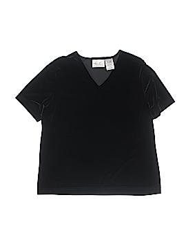 Kathie Lee Short Sleeve Top Size L