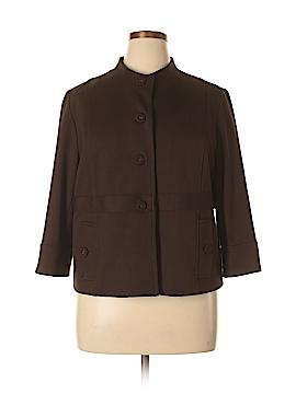 Sandro Sportswear Silk Blazer Size XL