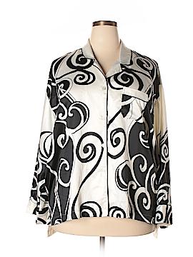 Natori Long Sleeve Blouse Size XXL