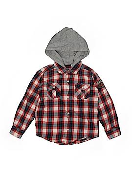 Koala Kids Long Sleeve Button-Down Shirt Size 4T