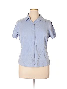 Dockers Short Sleeve Button-Down Shirt Size XL