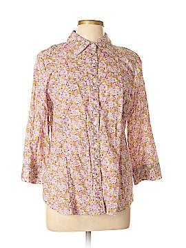 IZOD Long Sleeve Blouse Size L