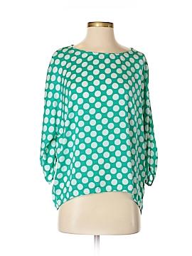 Bobeau 3/4 Sleeve Blouse Size S